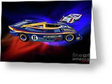 Mark Donohue And George Follmer Porsche Greeting Card