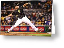 Mark Melancon Baseball Greeting Card