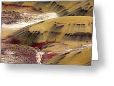Marked Hills Greeting Card