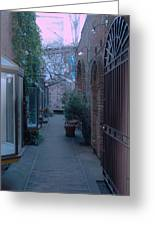 Market Alley Greeting Card