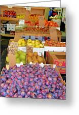 Market At Bensonhurst Brooklyn Ny 10 Greeting Card