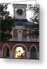 Market House - Fayetteville Greeting Card