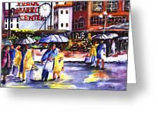 Market Greeting Card