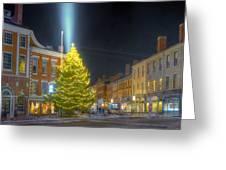 Market Square 025 Greeting Card