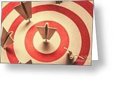 Marketing Your Target Market Greeting Card