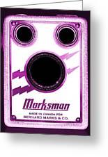 Marksman By Bernard Marks Greeting Card
