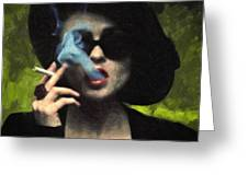 Marla Singer Greeting Card