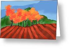 Marlborough Fall Greeting Card