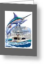 Marlin Commission  Greeting Card