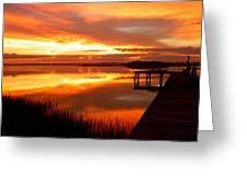 Marmalade Skies Greeting Card