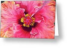 Maron's Hibiscus Greeting Card