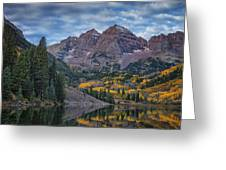 Maroon Bells Colorado Dsc06628 Greeting Card