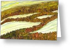 Marsh 9 Greeting Card