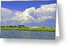 Marsh And Dunes Greeting Card