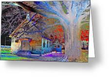 Marsh Berea Mb Church In Color Greeting Card