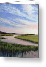 Marsh Blush Greeting Card