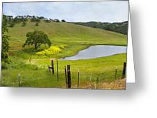 Marsh Creek Road Greeting Card