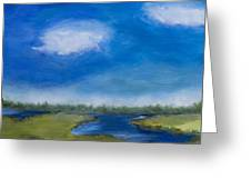 Marsh In The Low Country Greeting Card