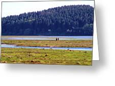 Marsh People Greeting Card