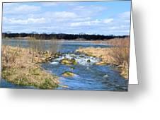 Marsh Spill Way Greeting Card
