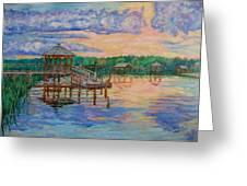 Marsh View At Pawleys Island Greeting Card