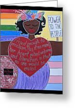 Marsha P Johnson Greeting Card