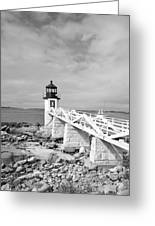 Marshal Point Light 1 Greeting Card