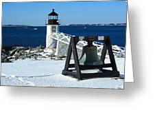 Marshall Point Snow Greeting Card