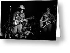 Marshall Tucker Winterland 1975 #10 Greeting Card