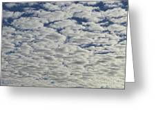 Marshmallow Sky Greeting Card
