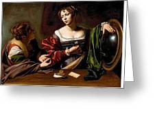 Martha And Mary Magdalen Greeting Card