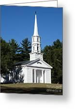Martha-mary Chapel Greeting Card