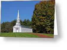 Martha Mary Chapel Greeting Card
