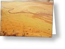 Martian River Greeting Card