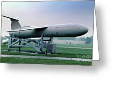 Martin Cgm-13b Mace Uav, Surface-to-surface Tactical Missile Greeting Card