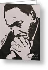 Martin Luther King Greeting Card