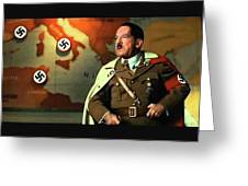 Martin Wuttke As Adolf Hitler Number One Inglourious Basterds 2009 Color Added 2016 Greeting Card