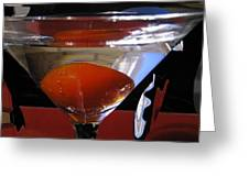 Martini Fantazy3 Greeting Card