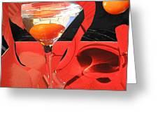 Martini Fantazy4 Greeting Card