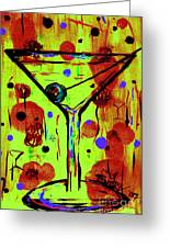 Martini Madness  Greeting Card