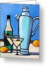 Martini Night Greeting Card