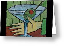 Martini Time - Within Reach Greeting Card