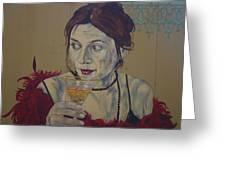 Martini Women Greeting Card