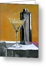 Martini3 Greeting Card