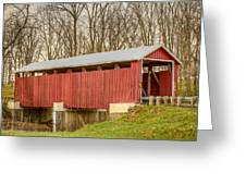 Martinsville Covered Bridge Greeting Card