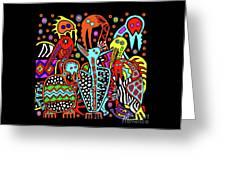 Maruvian Bird Gallery Greeting Card