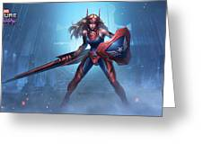 Marvel Future Fight Greeting Card