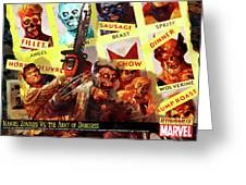 Marvel Zombies Greeting Card