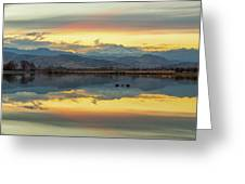 Marvelous Mccall Lake Reflections Greeting Card