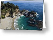 Marvelous Mcway Falls Greeting Card